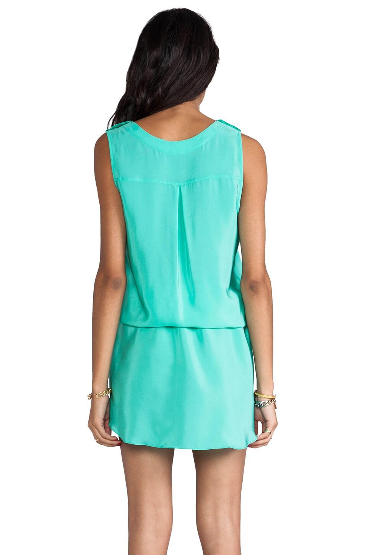 Amanda Uprichard Brittany Dress in Mint