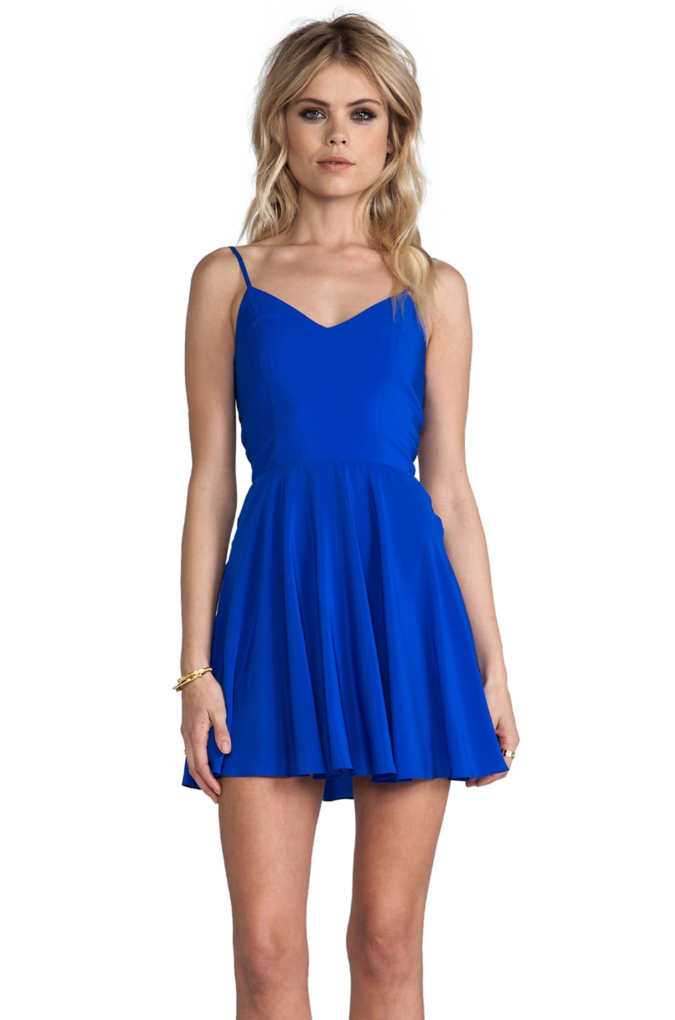Amanda Uprichard REVOLVE Exclusive Bowery Dress in Royal