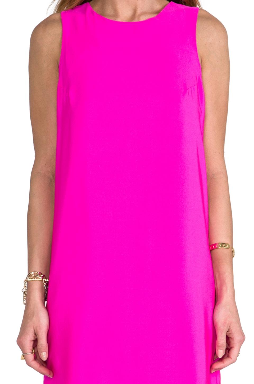 Amanda Uprichard Sheath Tank Dress in Hot Pink  REVOLVE