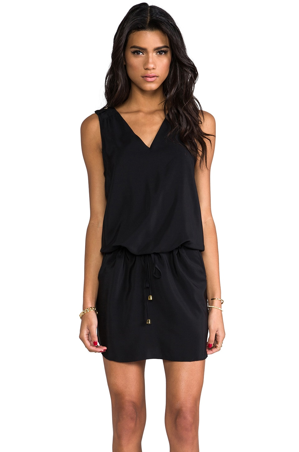 Amanda Uprichard Brittany Dress in Black