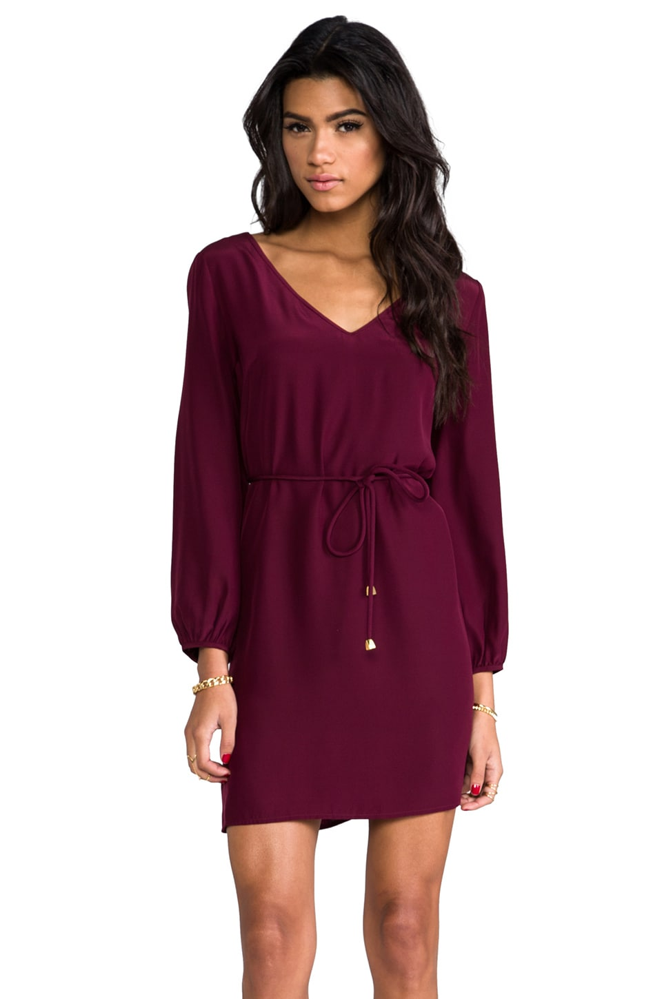 Amanda Uprichard Tiffany Dress in Wine