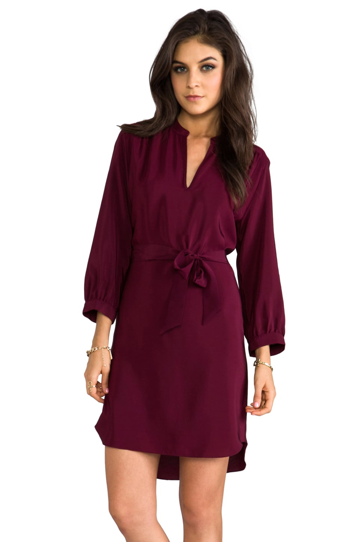Amanda Uprichard Everyday Dress in Wine