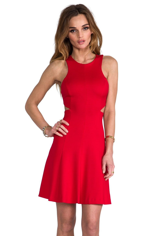 Amanda Uprichard Juliet Dress in Red