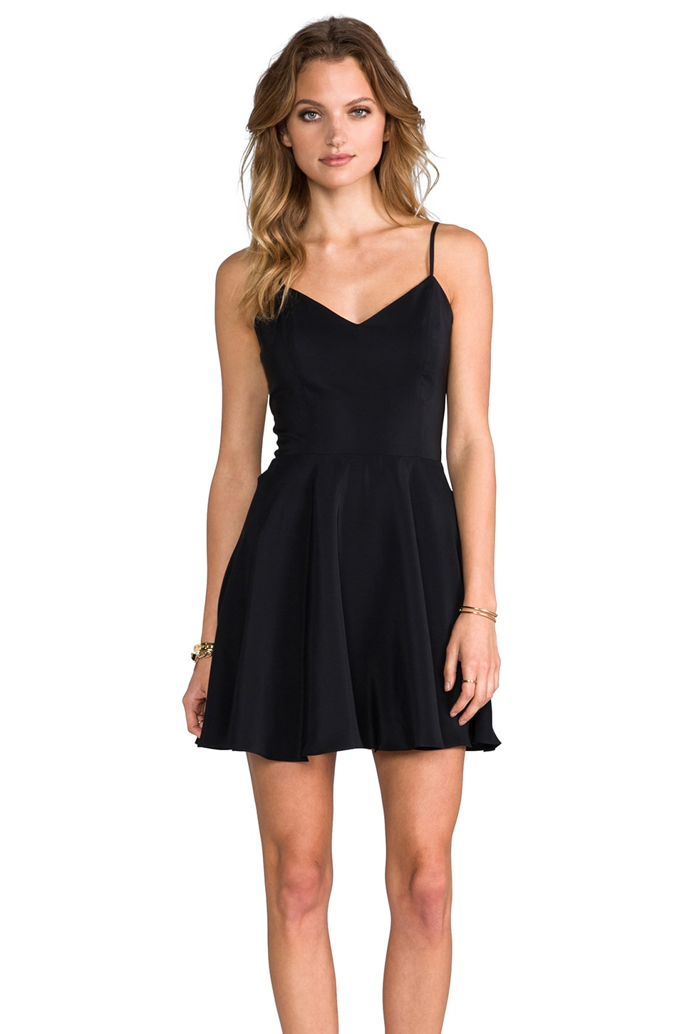 Amanda Uprichard Bowery Dress in Black