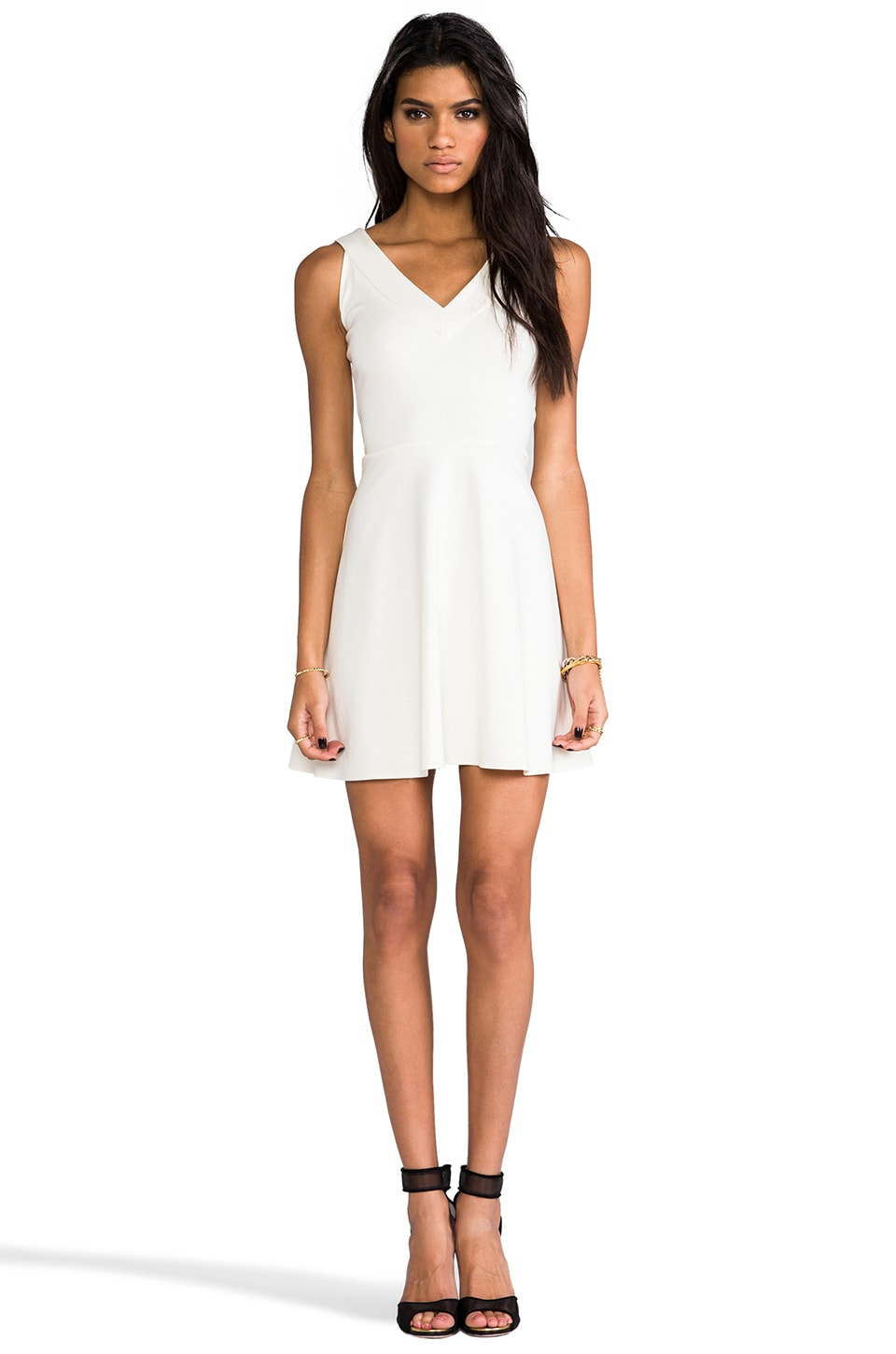 Amanda Uprichard Havana Dress in Ivory