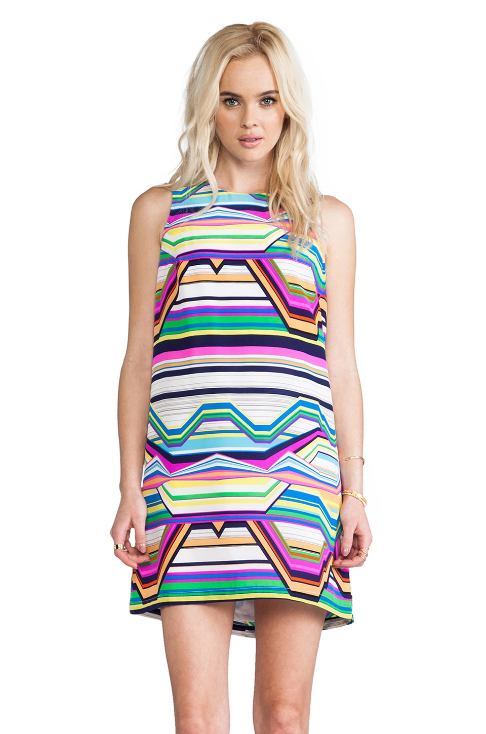 Amanda Uprichard Sheath Dress in Surf Print
