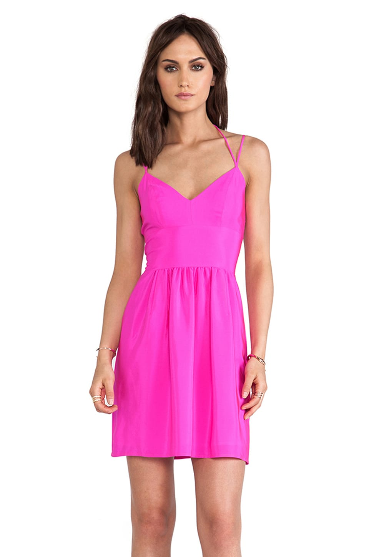 Amanda Uprichard Whenever Dress in Hot Pink