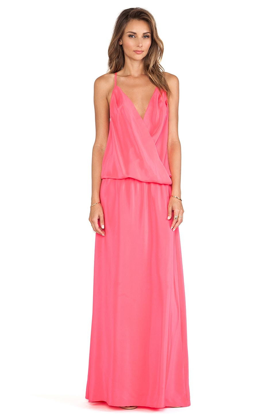 Amanda Uprichard X REVOLVE Summer Maxi Dress in Electric Rouge
