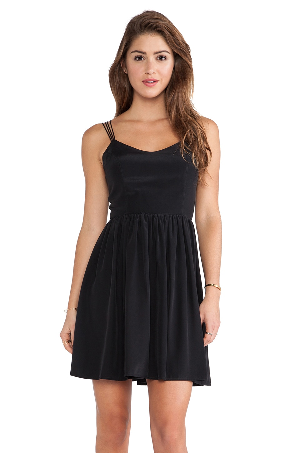 Amanda Uprichard Afternoon Dress in Black
