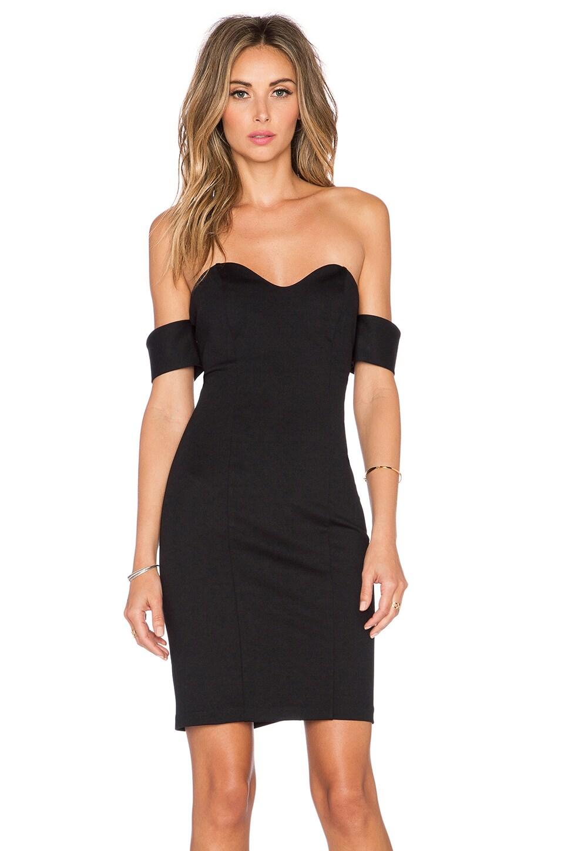 Amanda Uprichard Shalimar Dress in Black