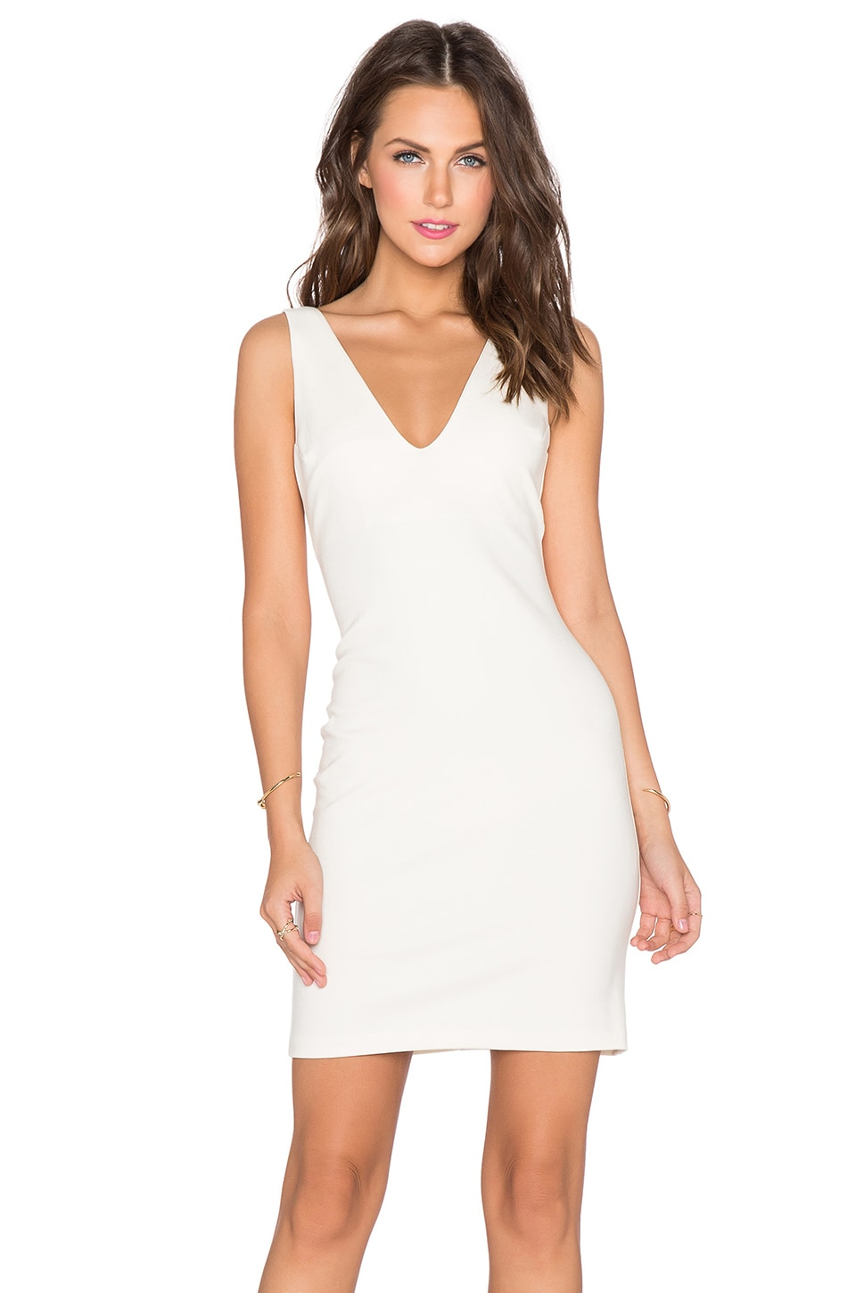 Sale Many Kinds Of Discount Latest Collections Portsmouth Dress in Ivory Amanda Uprichard Looking For Clearance Footlocker Finishline L3B5Qw4c