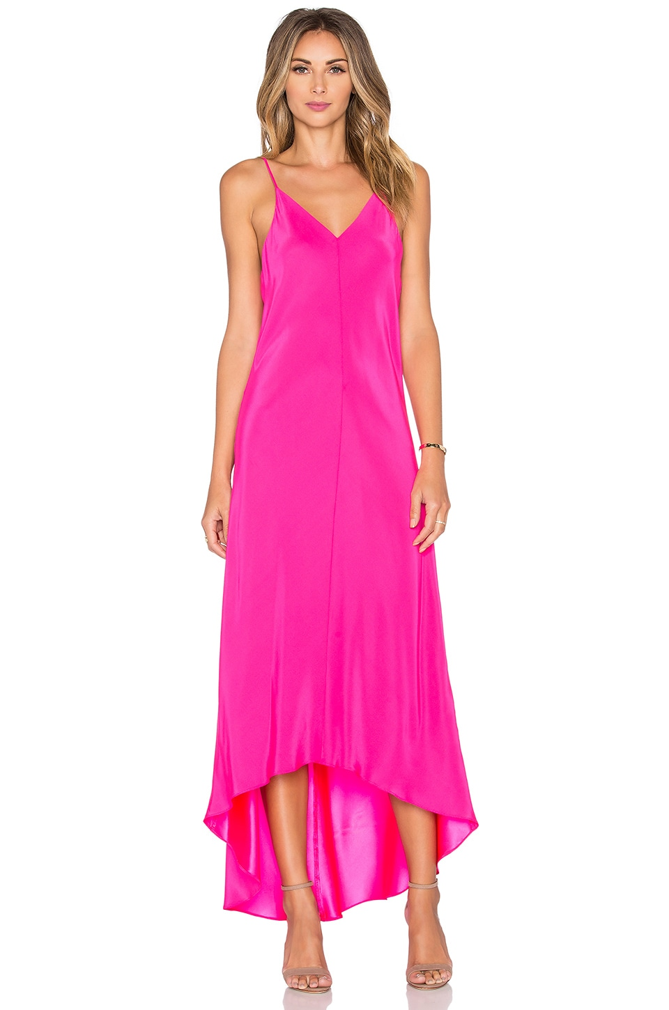 Amanda Uprichard Julia Maxi Dress in Passionfruit