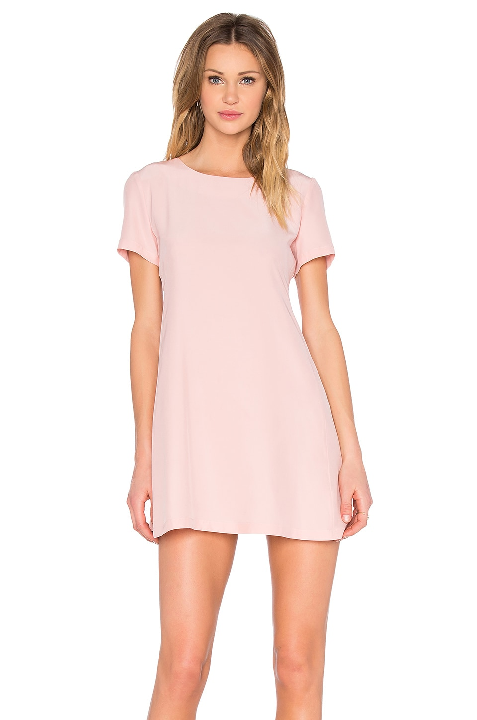 Amanda Uprichard Winthrop Dress in Dusty Rose