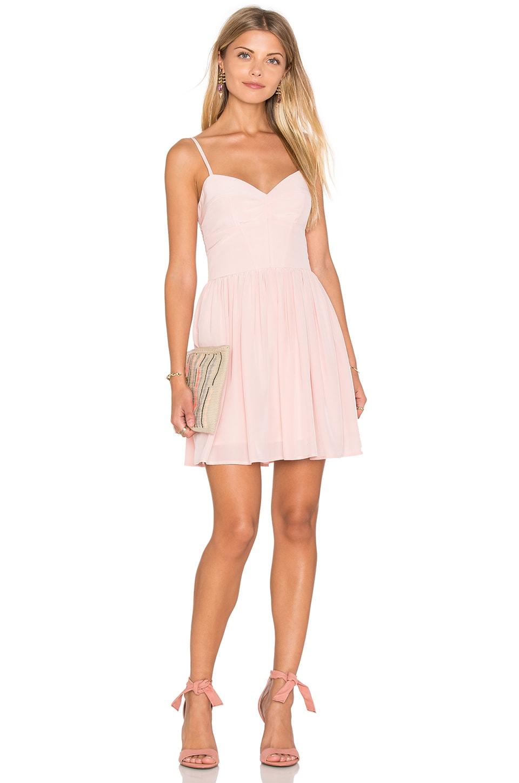 Pink Silk Dress - Qi Dress