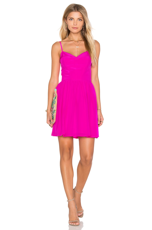 Pink 100% Silk Dress - REVOLVE