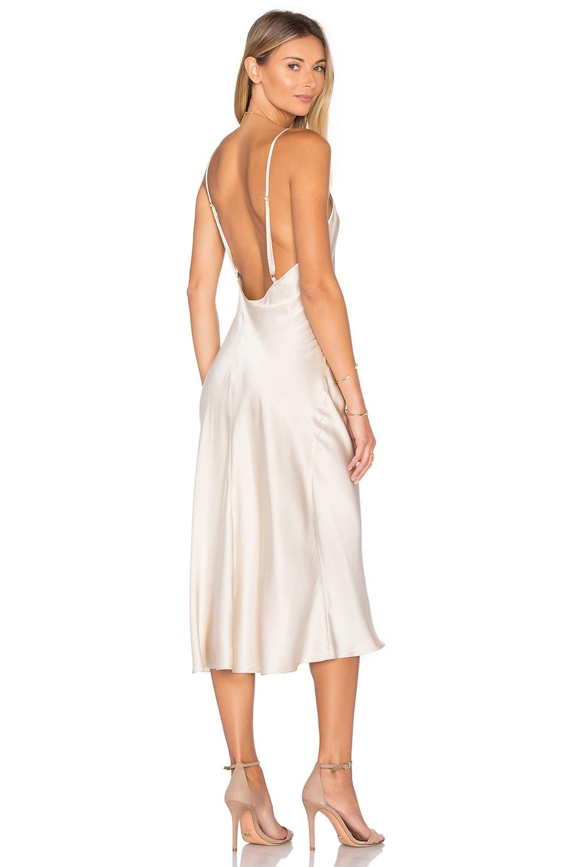 Amanda Uprichard x REVOLVE Slip Dress in Bone