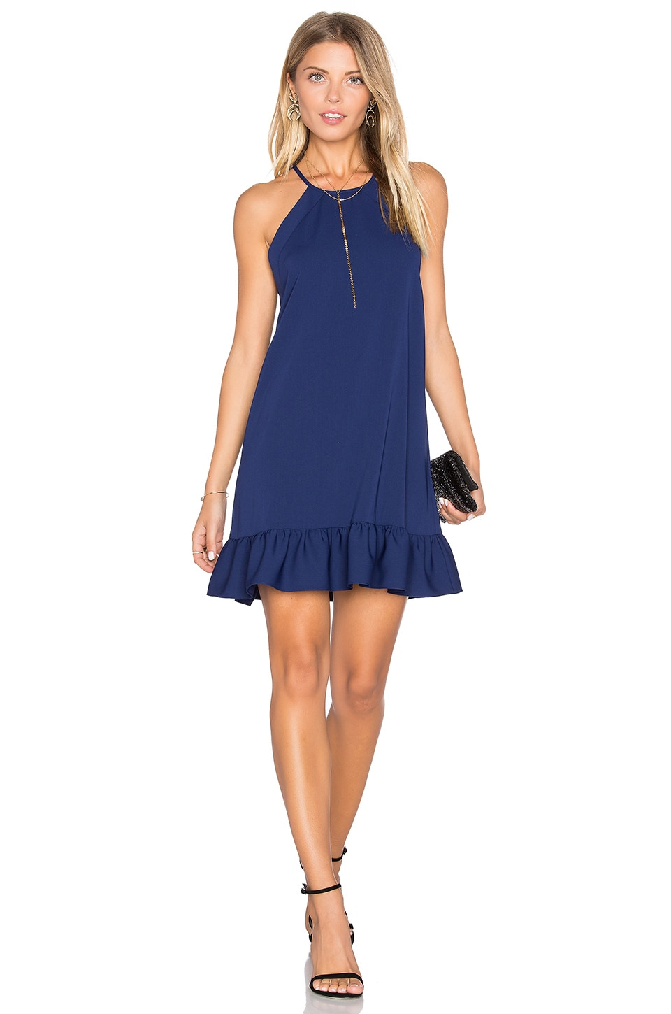 Amanda Uprichard Shalyn Dress in Navy