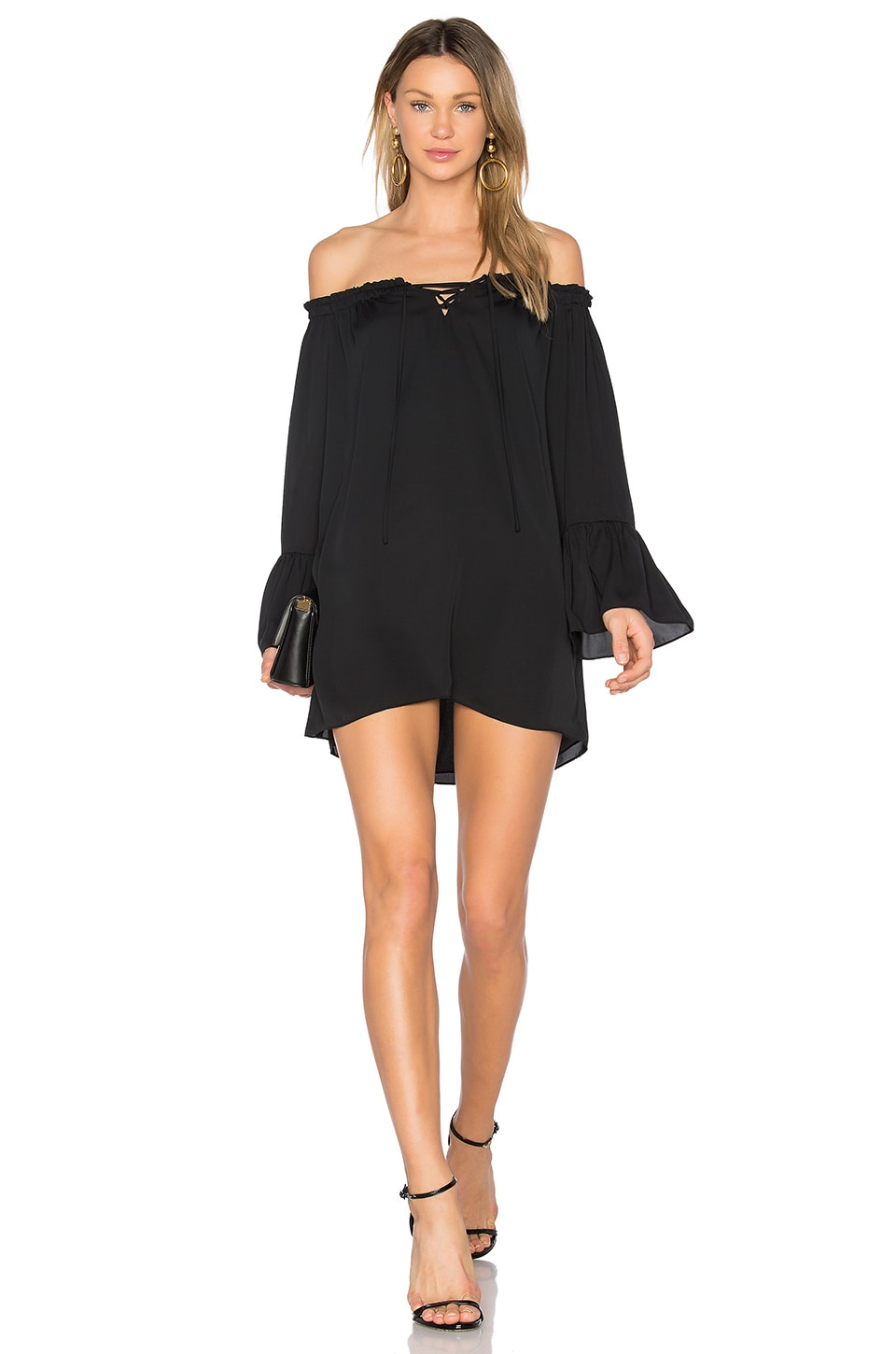 Amanda Uprichard Saratoga Dress in Black