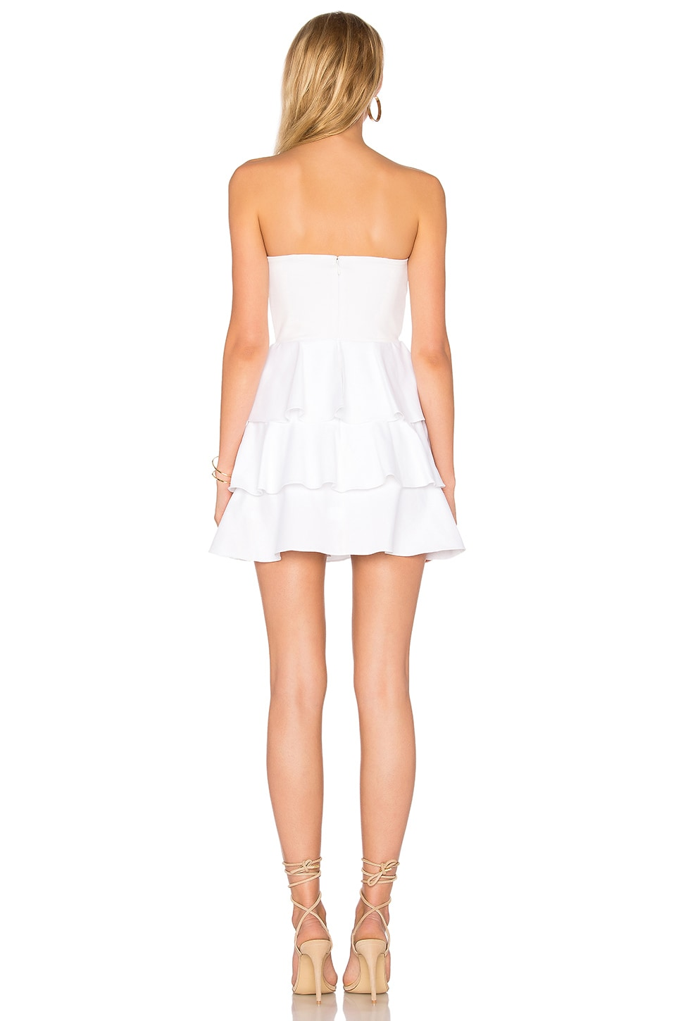 Tiered Ruffle Dress, view 3, click to view large image.
