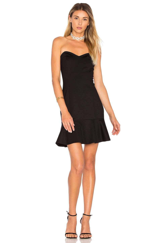 Amanda Uprichard Rocky Dress in Black