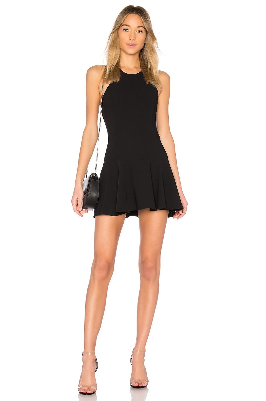 Amanda Uprichard Bellina Dress in Black