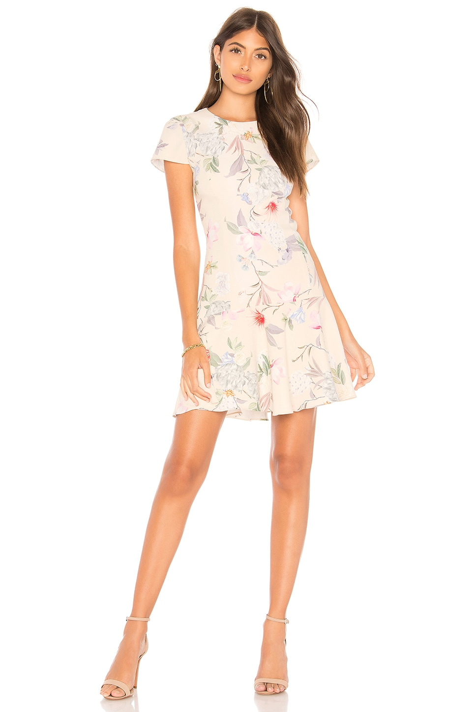 Amanda Uprichard Hudson Dress in Verbena