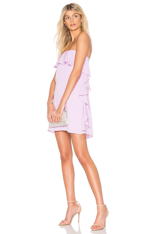 Amanda Uprichard Tally Dress in Electric Lilac