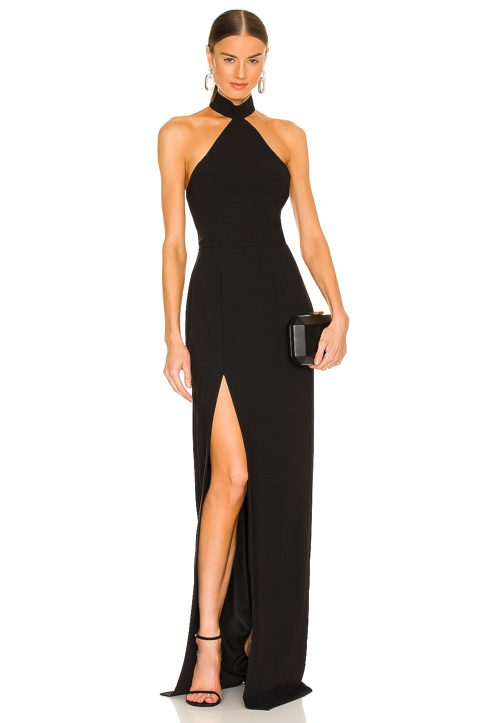 Amanda Uprichard Queen Gown in Black