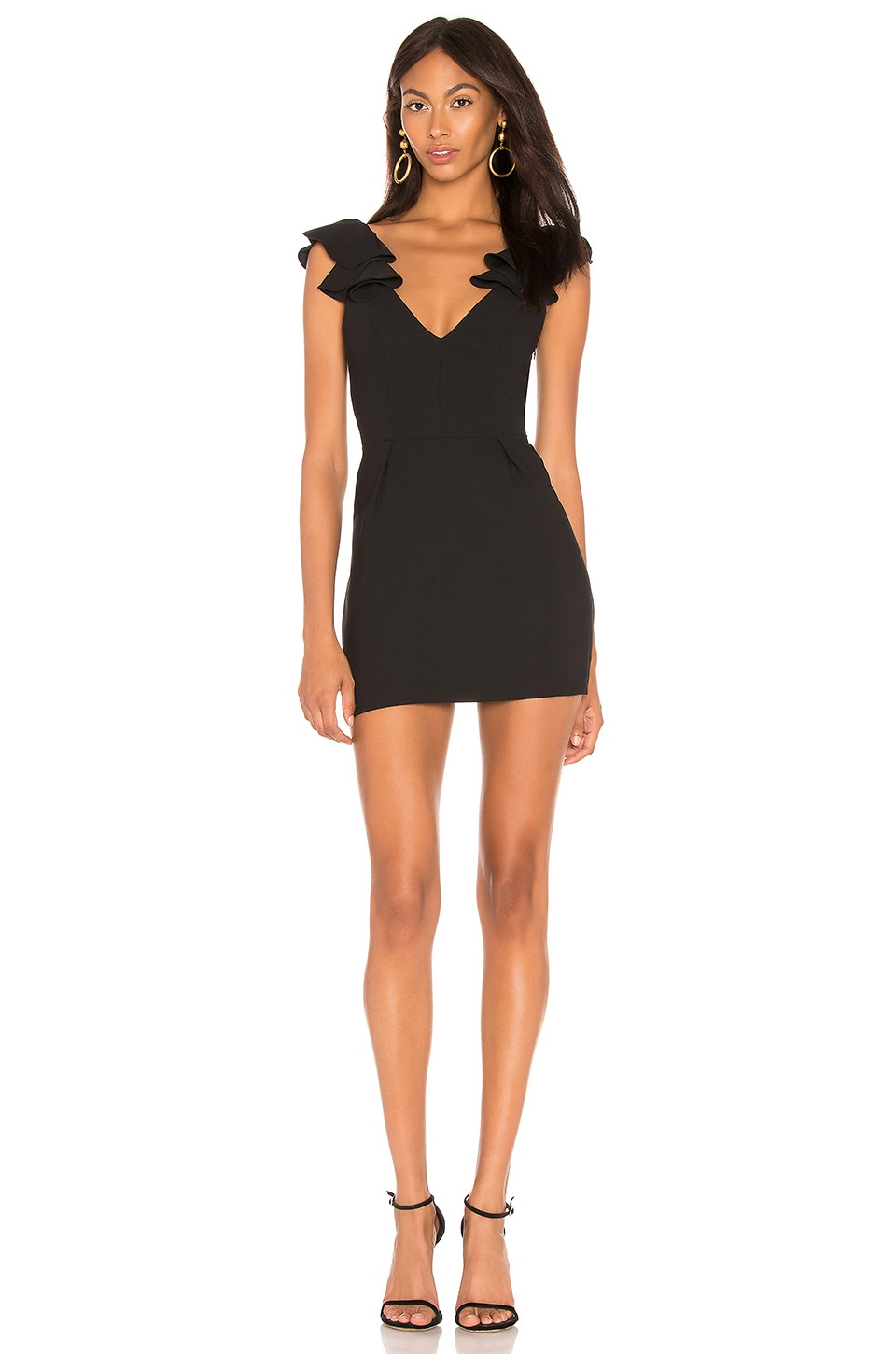 Amanda Uprichard Gimlet Dress in Black