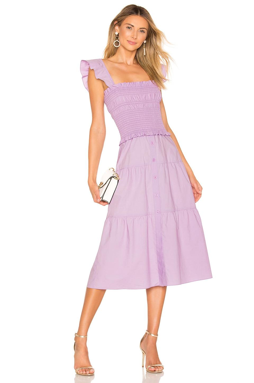 Amanda Uprichard Fillmore Dress in Lavender