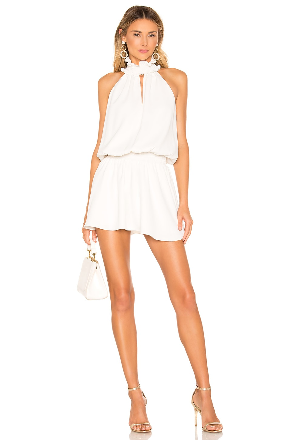 Amanda Uprichard Kimmie Dress in Ivory