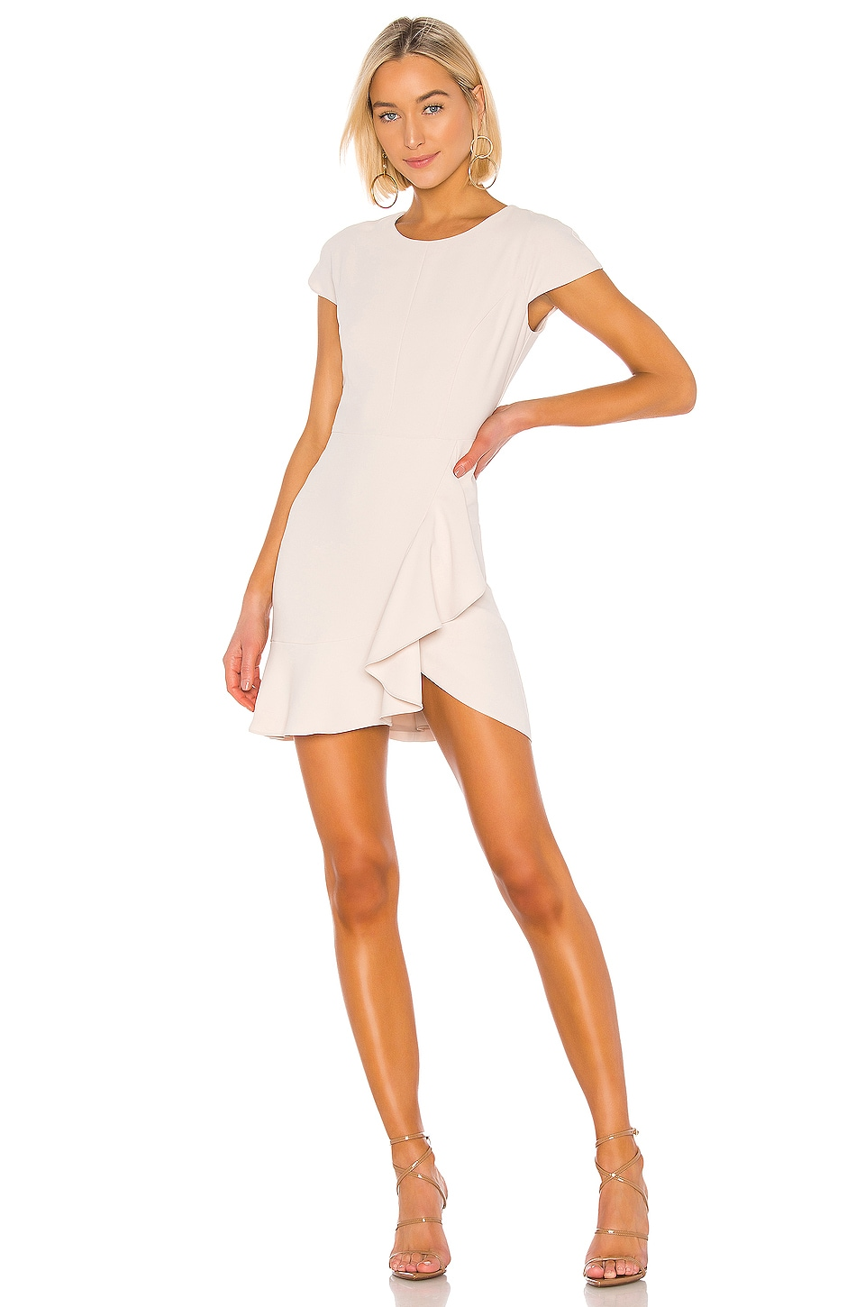 Amanda Uprichard Whistler Dress in Bone