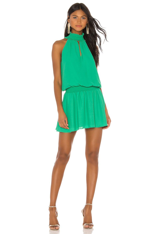 Amanda Uprichard Kimmie Dress in Jungle Green