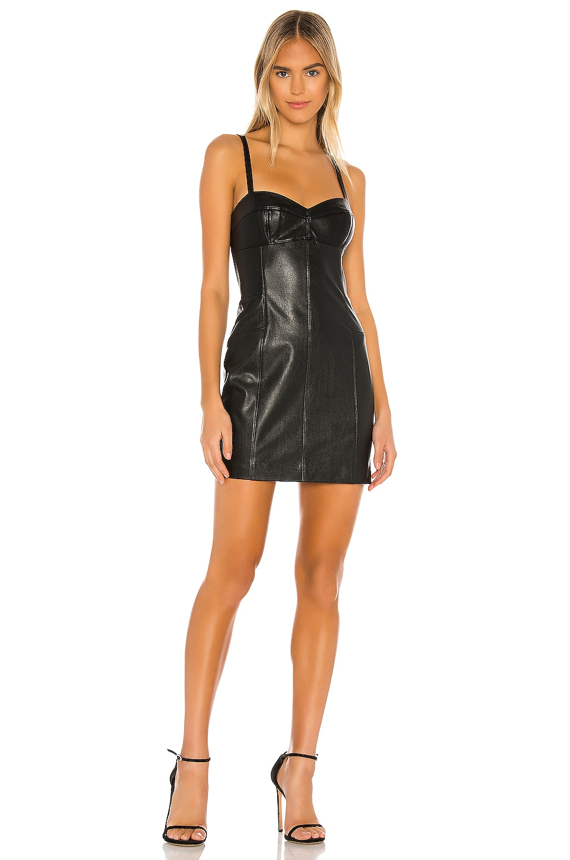 Amanda Uprichard Brigida Dress in Black