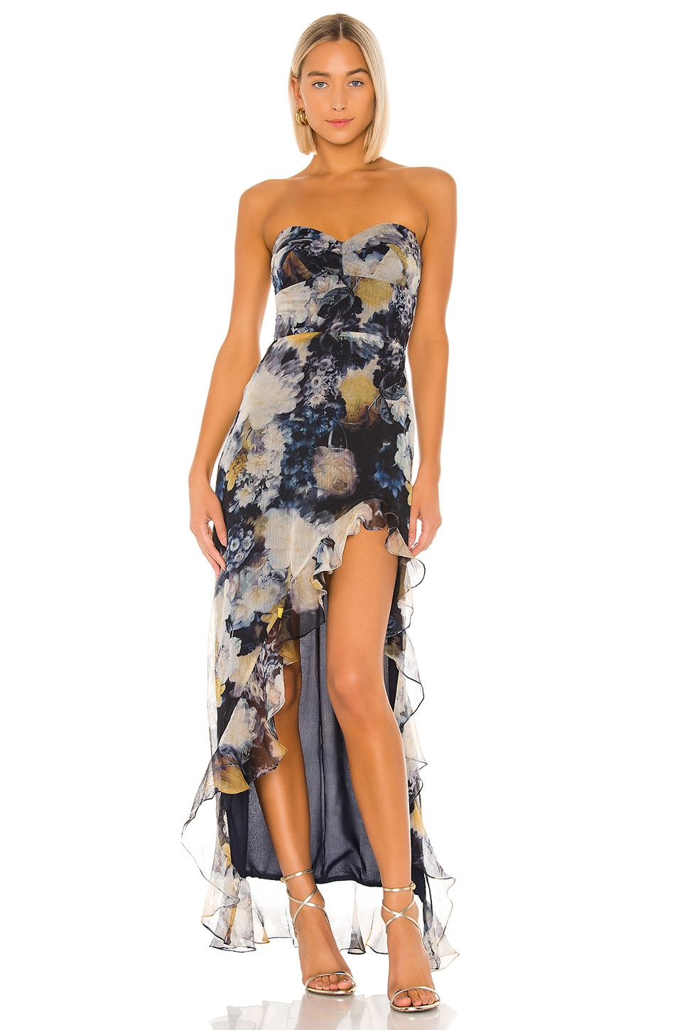 Amanda Uprichard Eden Gown in Midnight Dream