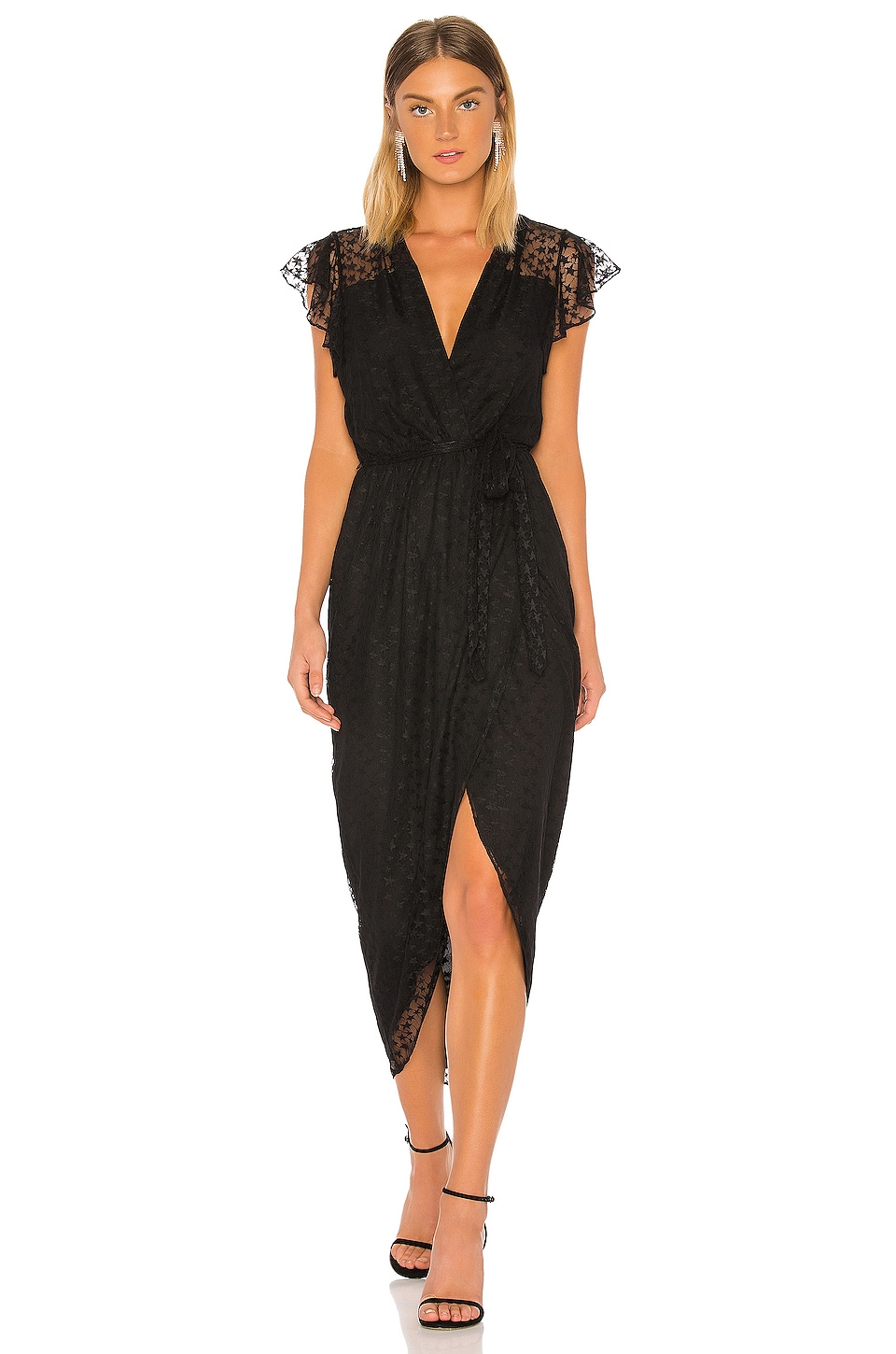 Amanda Uprichard Zelle Dress in Starlight Mesh