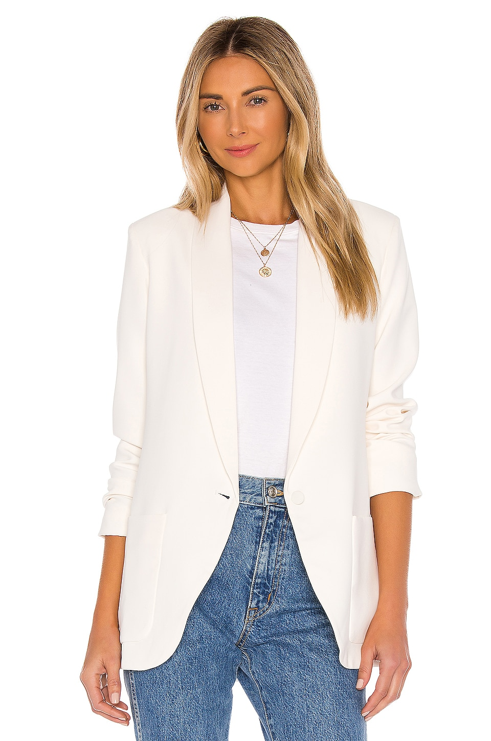 Shawl Collar Blazer             Amanda Uprichard                                                                                                       CA$ 375.36 7