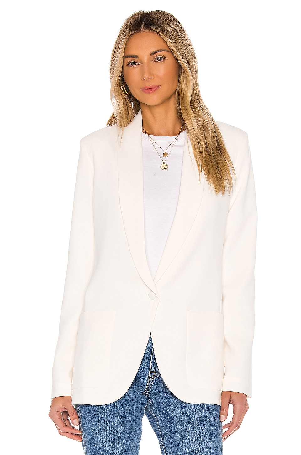 Shawl Collar Blazer, view 2, click to view large image.