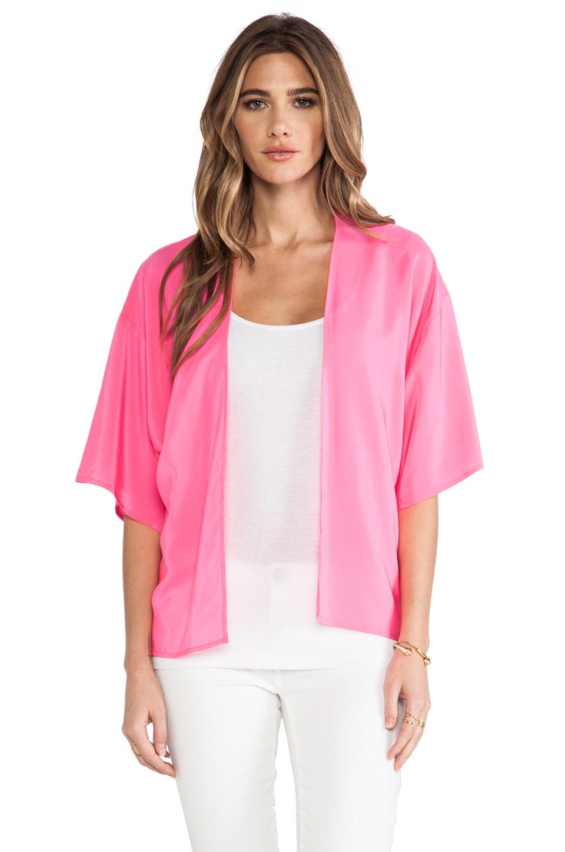 Amanda Uprichard Kimono Jacket in Hibiscus