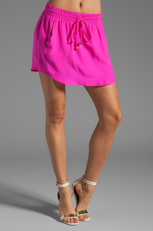 Amanda Uprichard Tribeca Skirt in Hot Pink