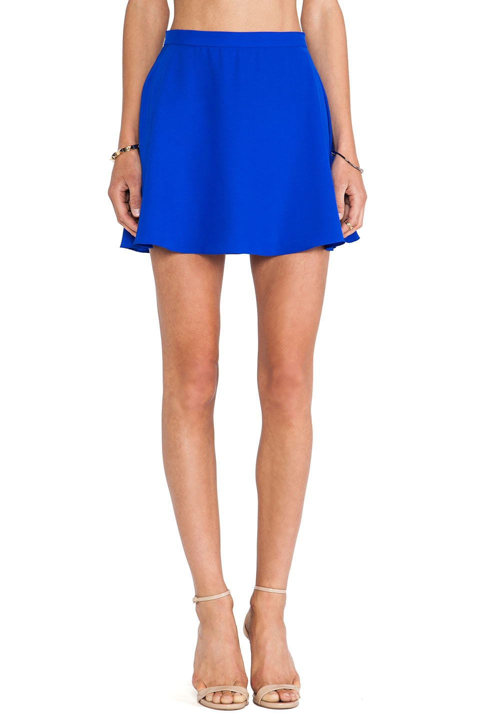 Amanda Uprichard Circle Skirt in Royal