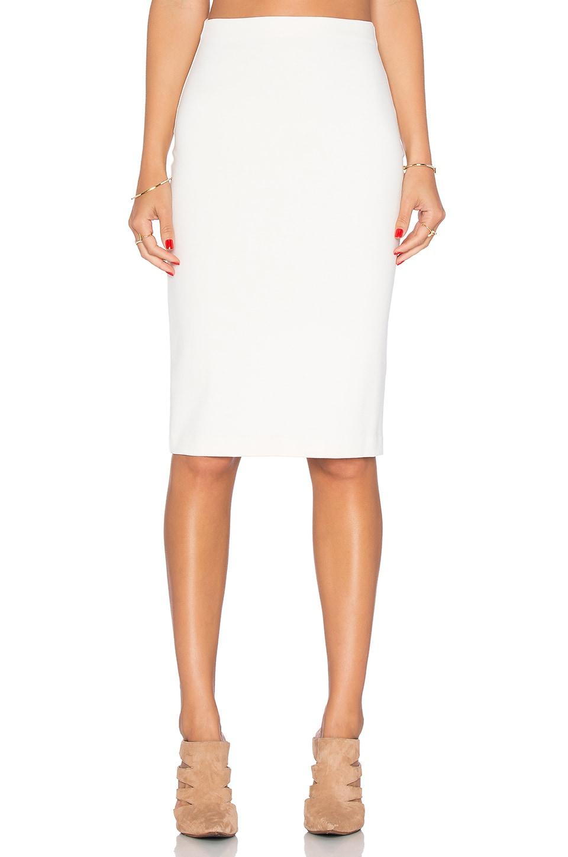 Amanda Uprichard Pencil Skirt in Ivory
