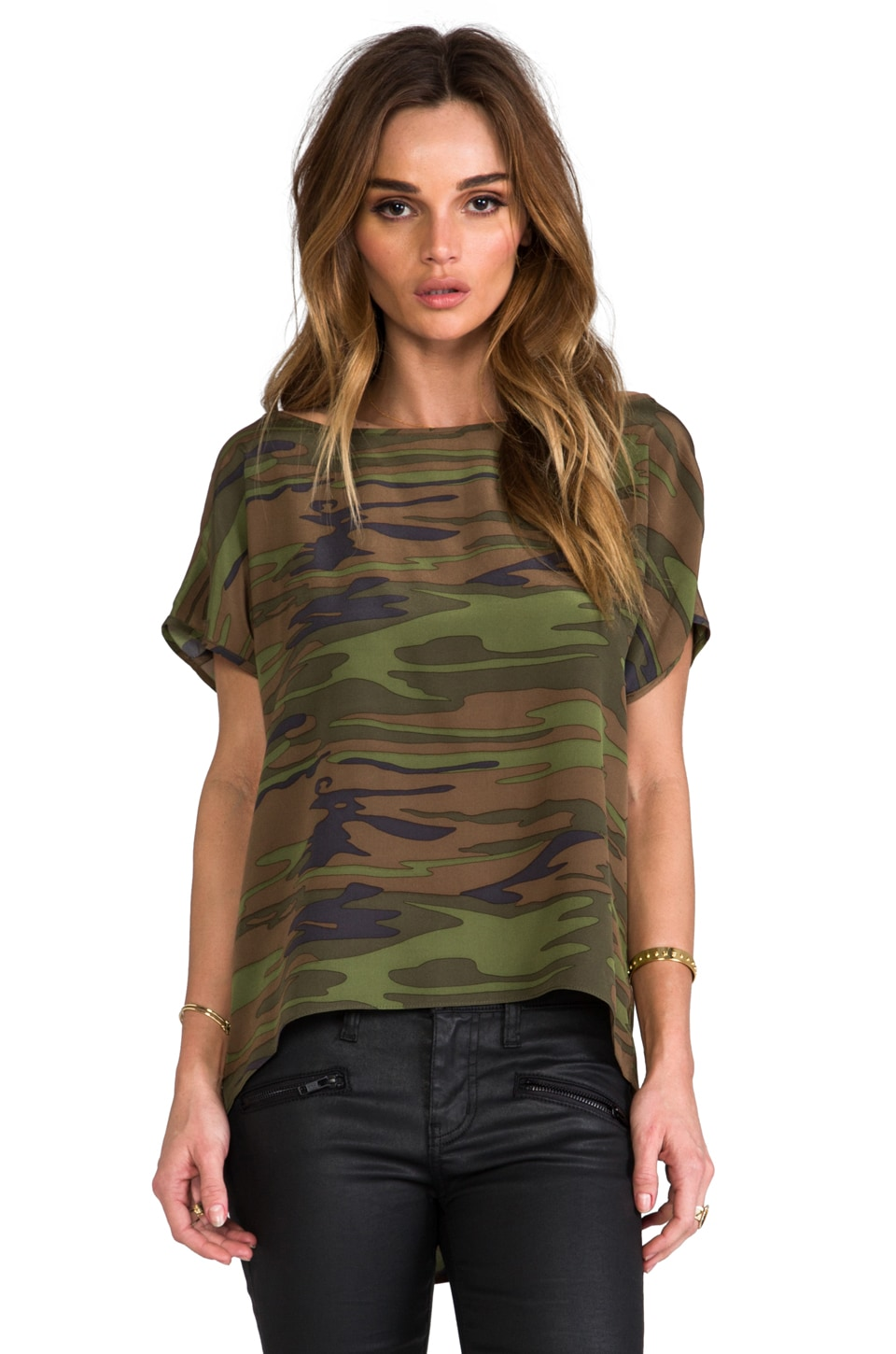 Amanda Uprichard Big Tee in Camo