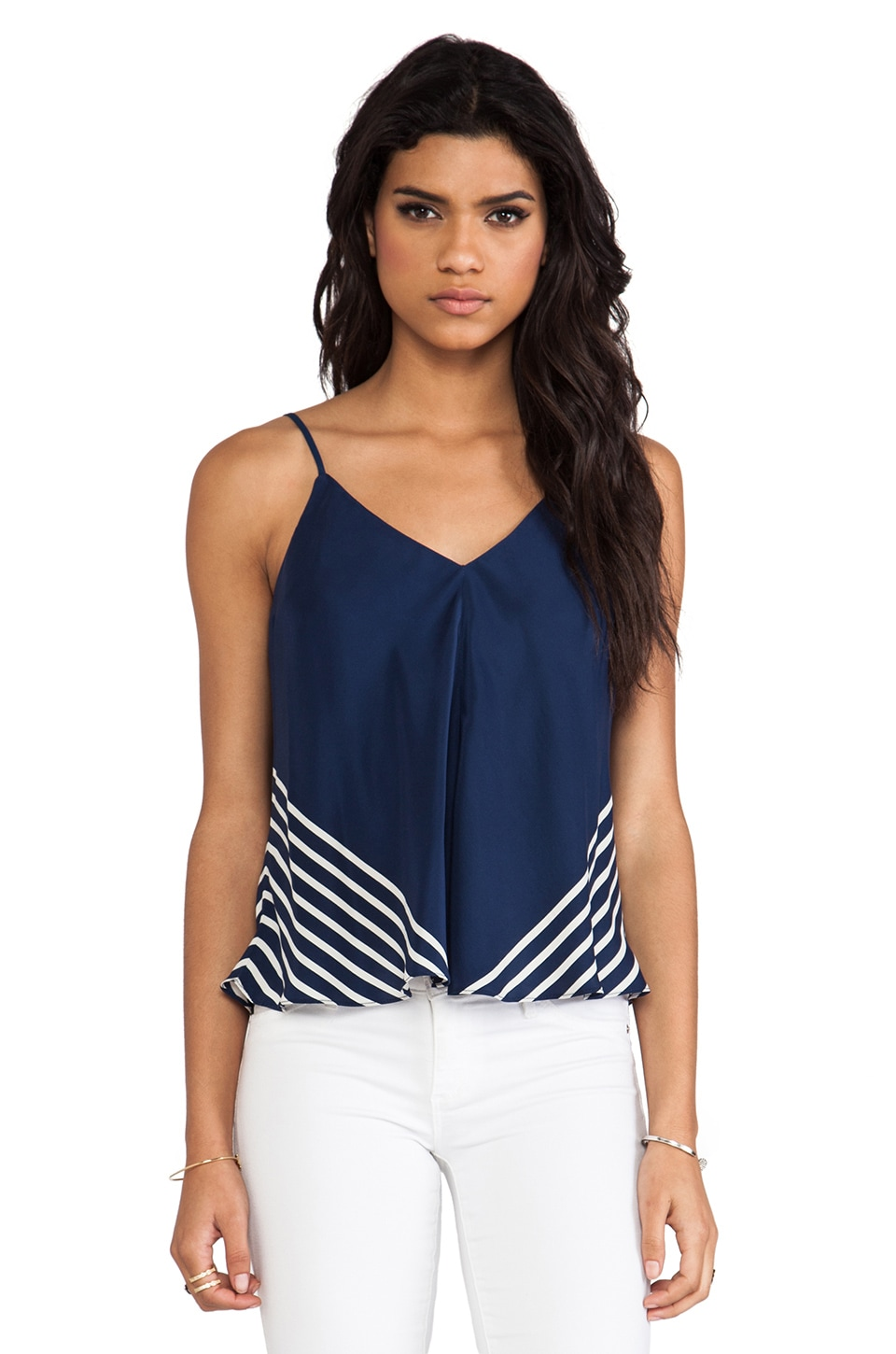 Amanda Uprichard Alana Top in Emerson French Stripe