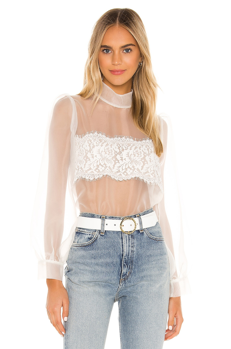 Amanda Uprichard X REVOLVE Alondra Top in White