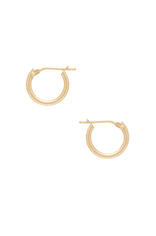 14K Hoop Earrings by Amarilo