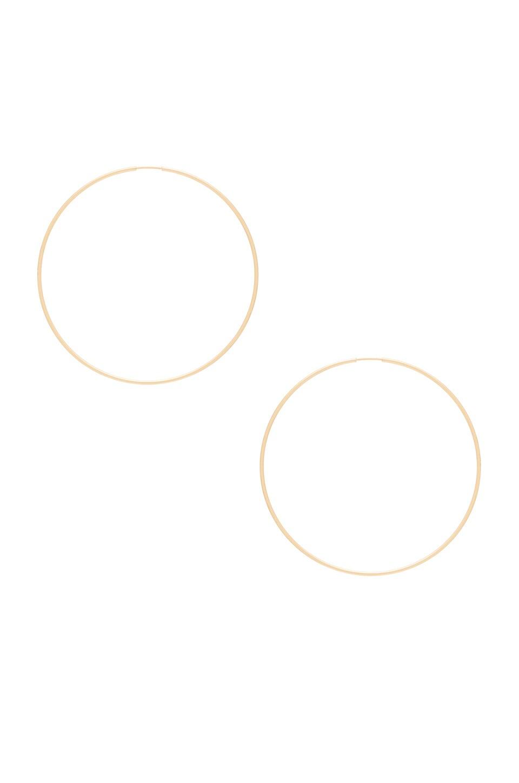 Amarilo Hoops in Gold