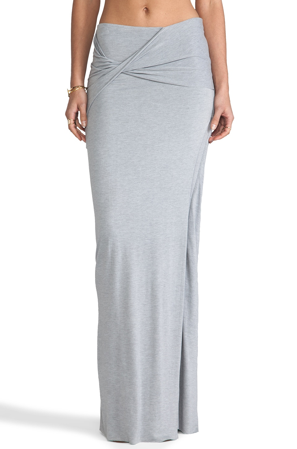 April, May Sonnet Skirt in Grey