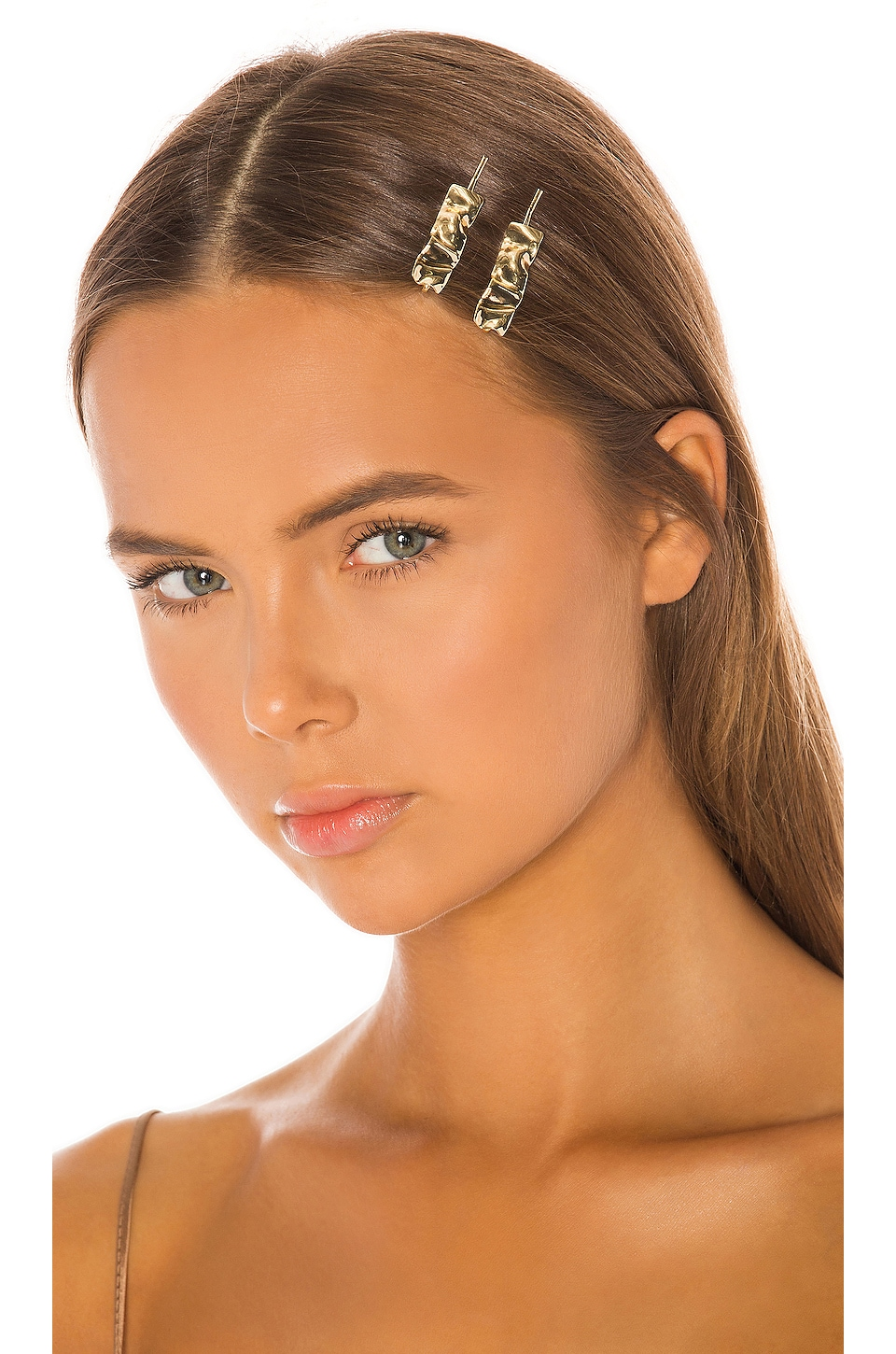 Amber Sceats Esmee Hair Clip Set in Gold