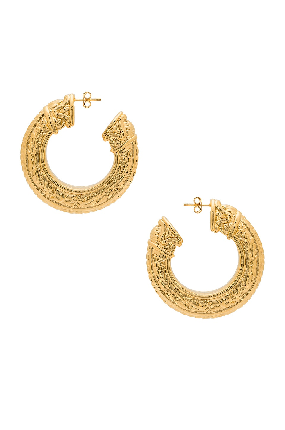 Amber Sceats Caleb Earring in Gold